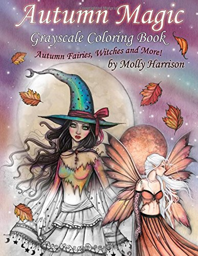 Critique du livre de coloriage Autumn Magic de Molly Harrison