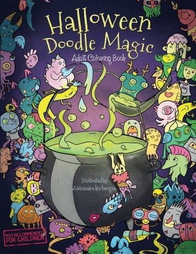 Critique du livre Halloween Doodle Magic par OkamiBooks