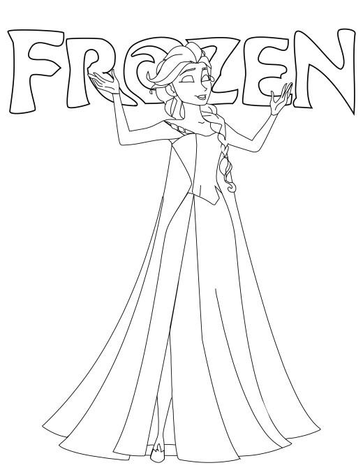 Coloriage Frozen Archives Artherapie Ca
