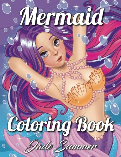 Mermaid Coloring Book par Jade Summer
