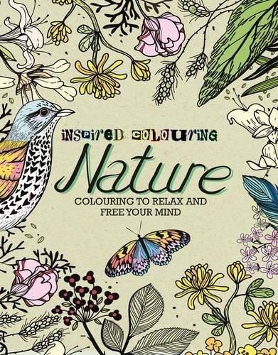 inspired colouring Nature par Parragon