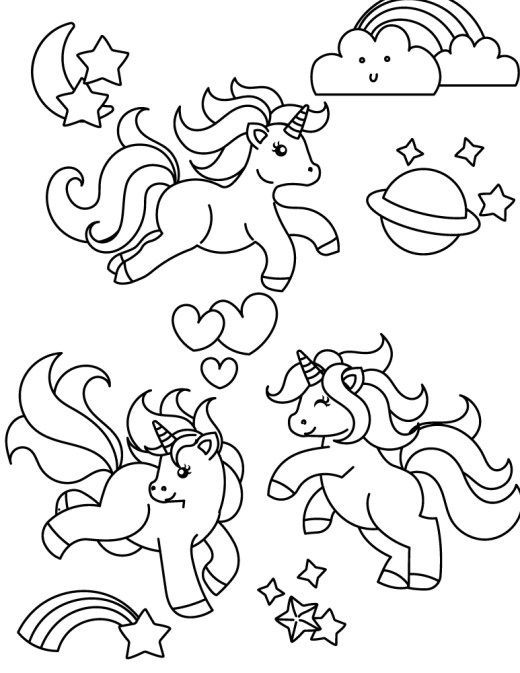 Coloriage facile à imprimer my little pony coloring book games