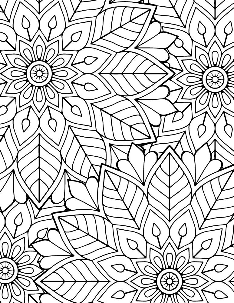 Image difficile coloriage mandala imprimer gratuit - Coloriage mandala printemps ...