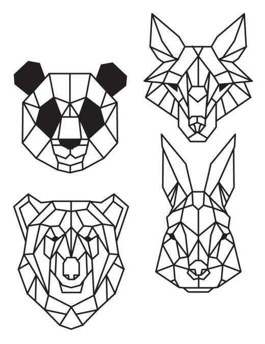Coloriage pixel jeux dessin animaux à imprimer
