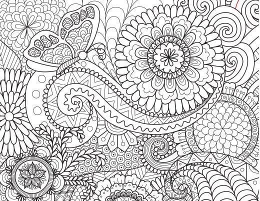 Bimbimkha coloriage mandala papillon à dessiner
