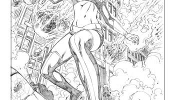 Marvel Comics à Colorier Groot Des Gardiens De La Galaxie