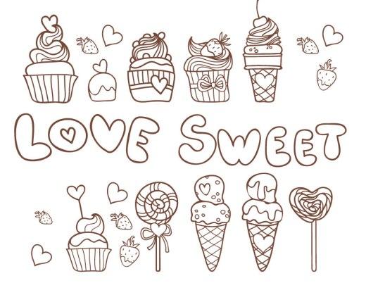 Délicieux cupcake gratuit à imprimer et dessiner