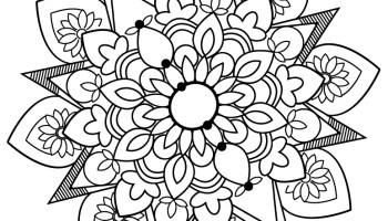 Image Difficile Coloriage Mandala A Imprimer Gratuit Artherapie Ca
