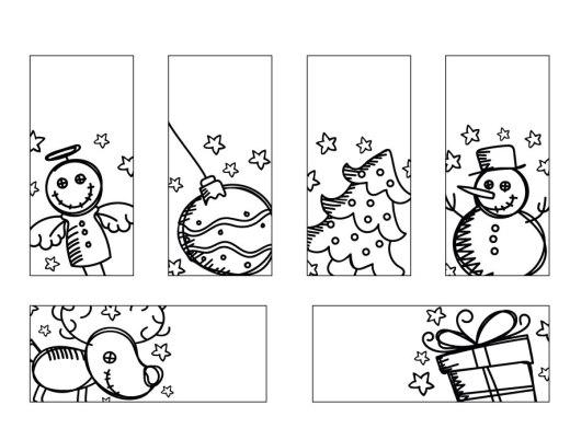 Coloriage noël étiquettes cadeaux gratuit à imprimer