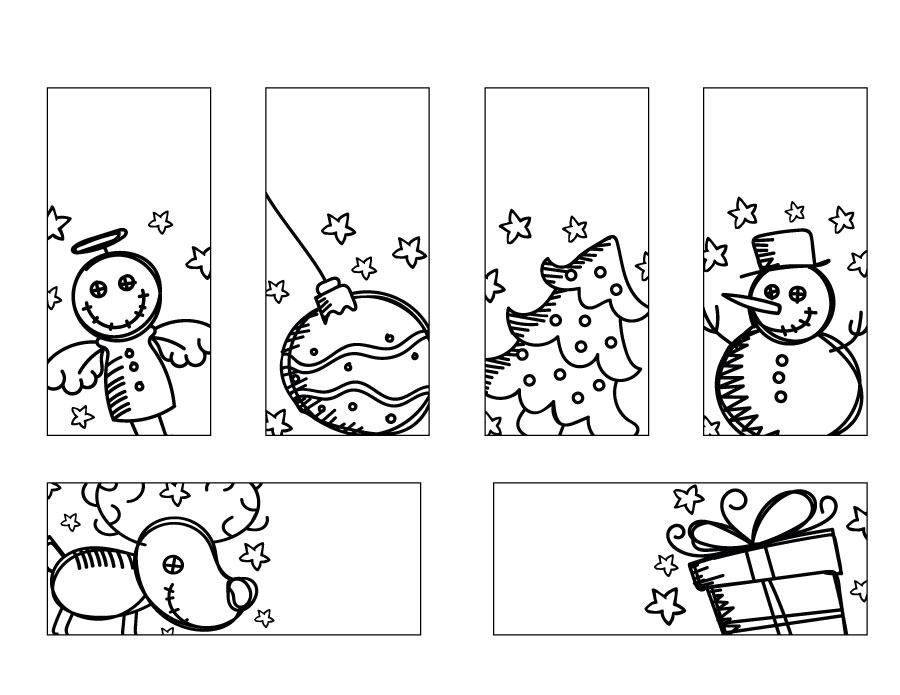 Coloriage Noel Etiquettes Cadeaux Gratuit A Imprimer Artherapie Ca