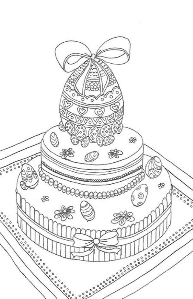 Gâteau de Paques par Marie Claude Fontaine