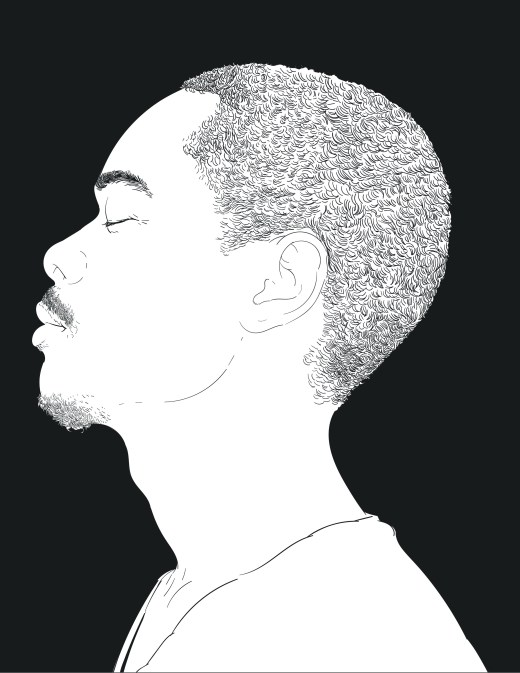 Coloriage adulte visage pour dessiner