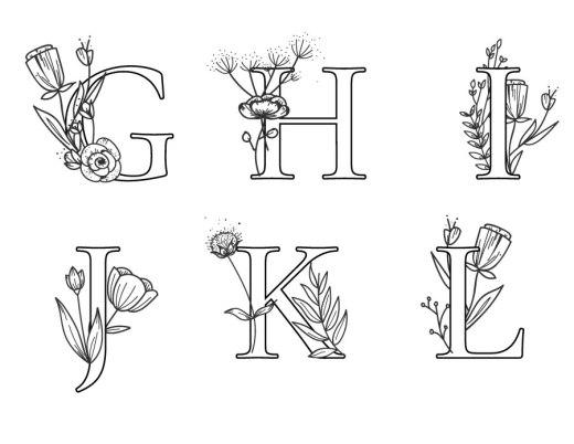 Affiche lettre google à imprimer