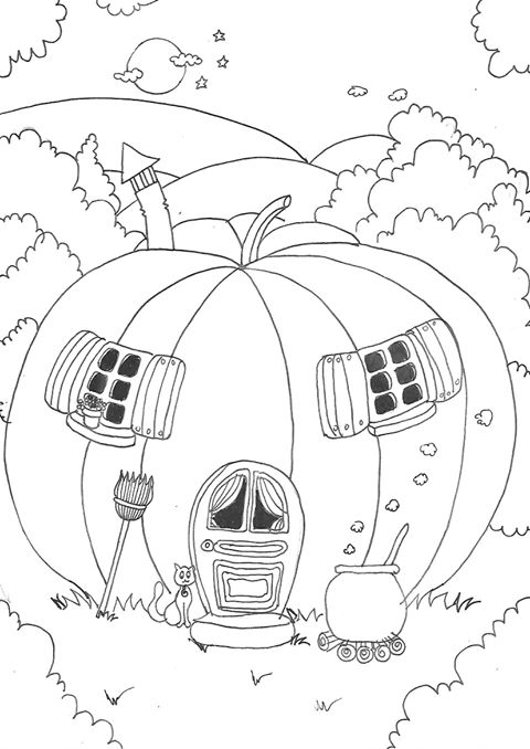 Coloriage En Ligne Halloween Archives Artherapieca