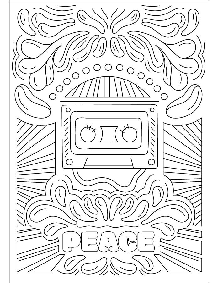 Affiche musique à imprimer gratuite
