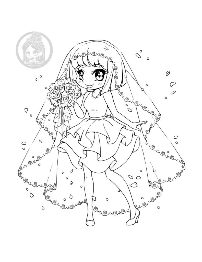 Mariée du printemps par YamPuff