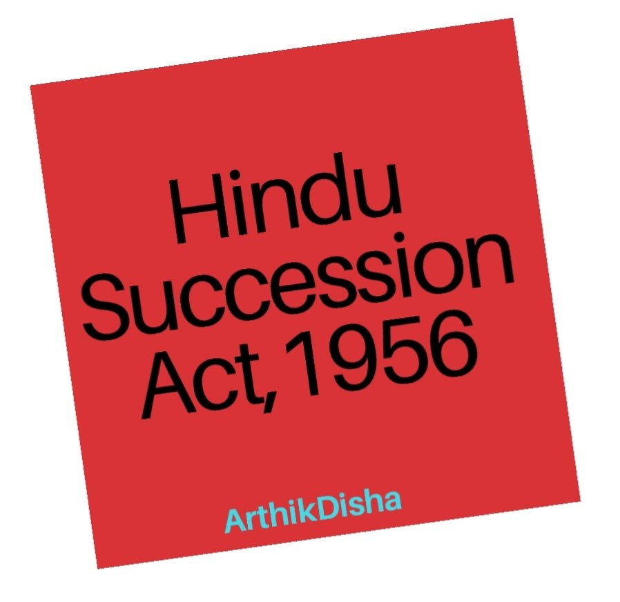 Hindu Succession Act 1956