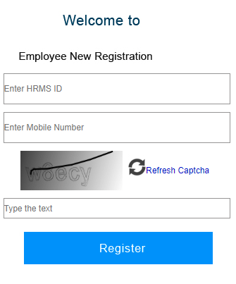 WBiFMS-New user Registration