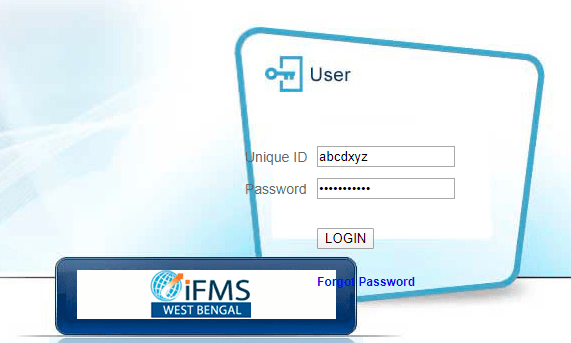 WBiFMS- User Login