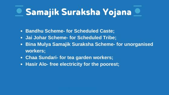 Samajik Suraksha Yojana-5 new schemes