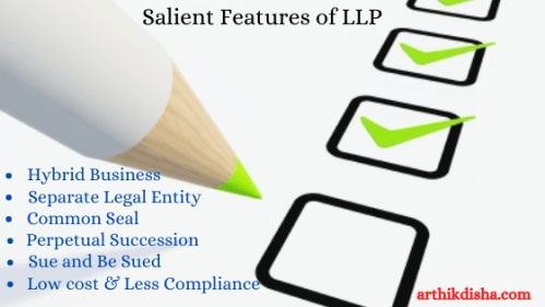 salient features of the LLP Act 2008