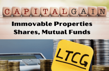 Long Term Capital Gain Tax Rate FY 2020-21 and AY 2021-22