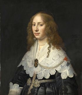 Aegje Hasselaer, wife of Henrick Hooft, 1640, Rijksmuseum