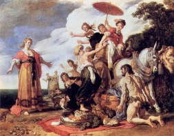 Pieter Lastman, Odysseus and Nausikaä (1619, Alte Pinakothek, Munich)