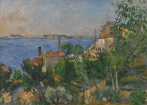 Cézanne's The Sea At L'Estaque (1876) was seized by a French court in 2000 following claims of having been illegally confiscated by the Nazis. The case was dismissed in 2002