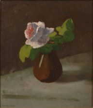 Odilon Redon, Rose in a Vase, 1865-70,33 x 28 cm. Photo: Hans G. Scheib, Cologne
