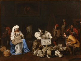 Michael Sweerts (?), Artist's Studio, ca. 1650, 82 x 106 cm. Photo: Hans G. Scheib, Cologne