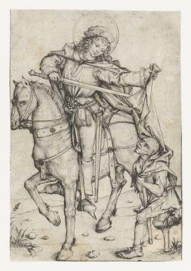 6. St Martin (ca. 1475-80), 19 x 13 cm, Rijksmuseum
