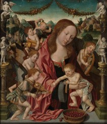 29. Virgin and Child with music making angels, workshop variant, c. 1512-15, Museum Boijmans Van Beuningen, Rotterdam