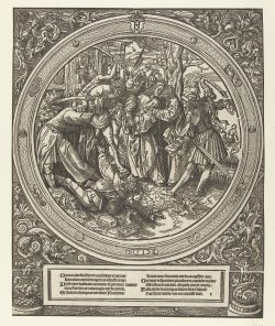 5. Betrayal of Christ, 1517, woodcut, 30 cm, Rijksmuseum