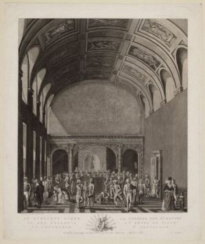 The Magistrates Chamber, 1793, Amsterdam City Archives