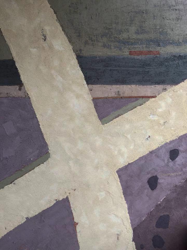 Ганна Гідора. Курганне поле. Схід. 2016. Полотно, олія. 140 х 100 см
