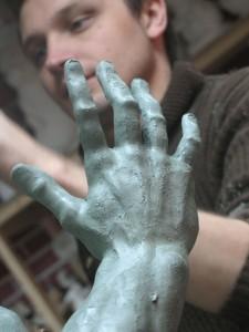 """Скульптор из Ванкувера Михаил Перцев: """"Я все еще учусь"""""""