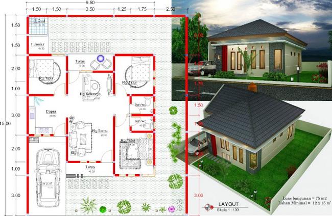 Model Rumah Minimalis Modern Terbaru Tahun 2020 Arthome Co Id
