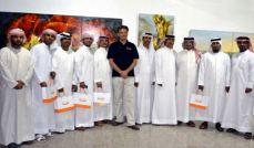 Abu-Dhabi kiállítás megnyitó