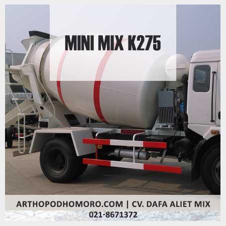Minimix Beton Mutu K275