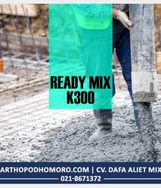 Beton Readymix Mutu K300