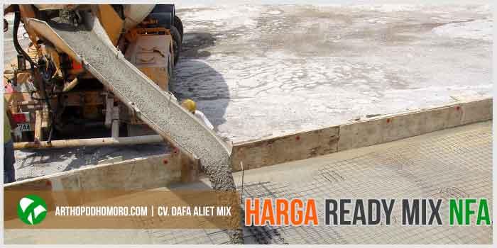 Harga Ready Mix non Fly Ash