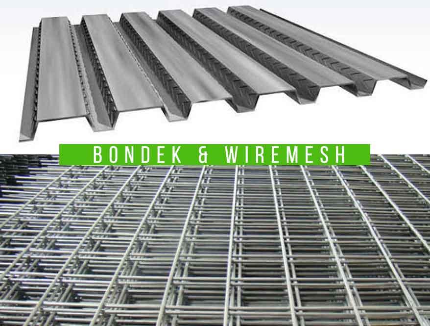 Spesifikasi Wire Mesh dan Bondek untuk Pengecoran