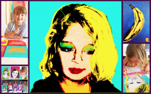 Artist Andy Warhol Inspired