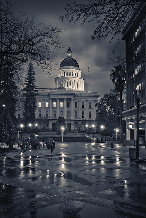 Capitol in the Rain