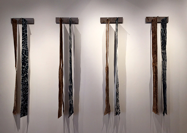 """Strips"" Monotypes and Metal by Gutermute and Sharma"