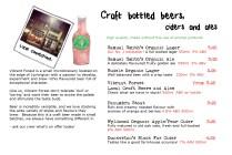 Beer ale cider