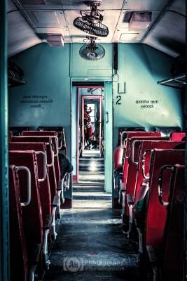 Sri Lankan Train Cabin