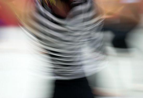 The energy of dance