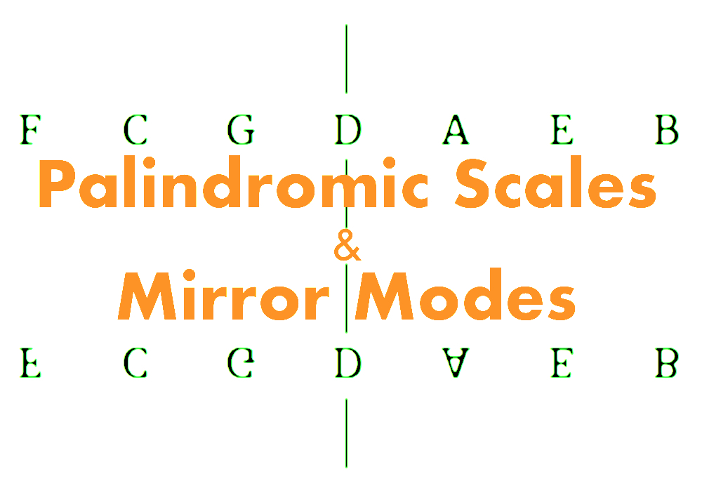 Palindromic Scales and Mirror Modes
